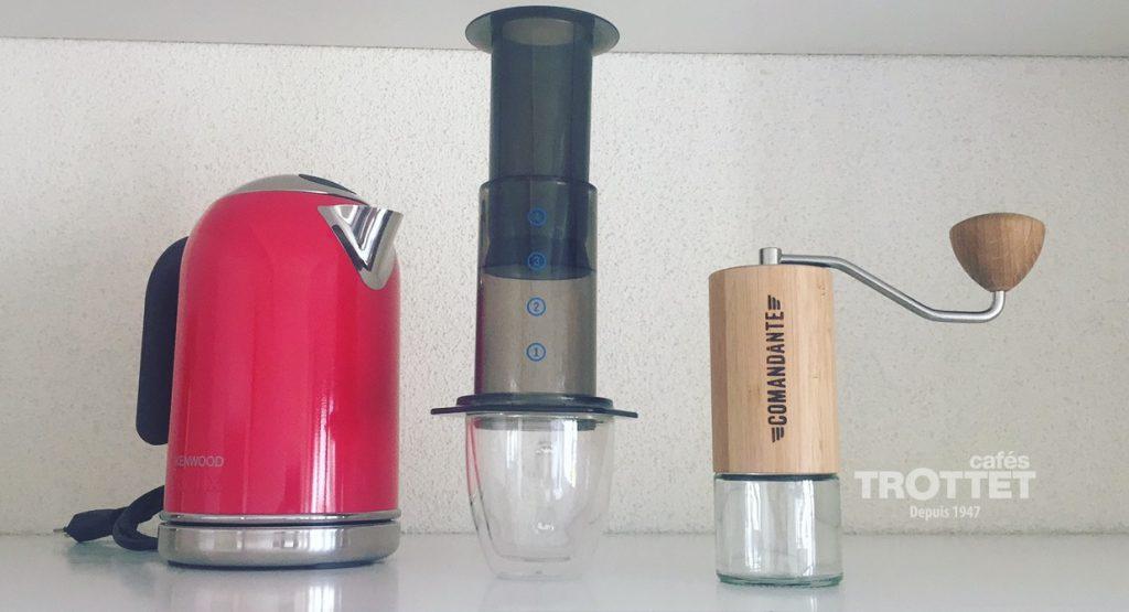 cafetière slow coffee Aeropress