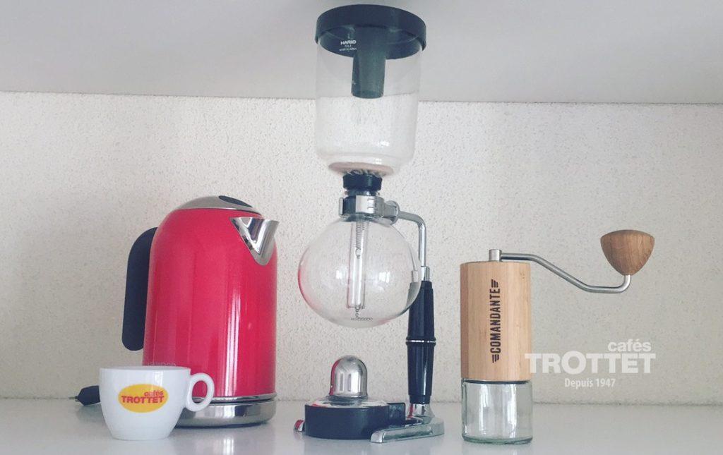 cafetière slow coffee syphon