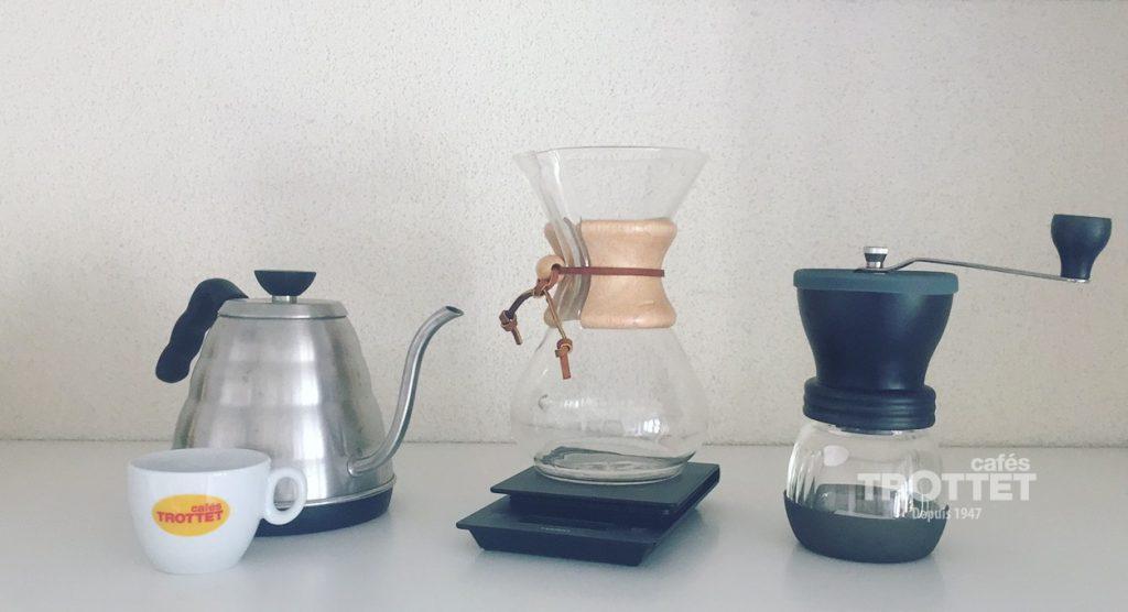 cafetière slow coffee Chemex