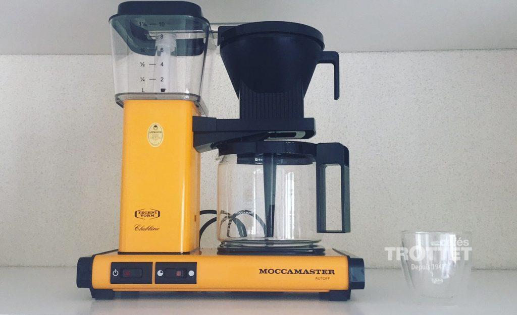 cafetière slow coffee filtre électrique